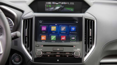 Though there's no sat nav, Apple CarPlay and Android Auto are both included, so you can use your phone's navigation software
