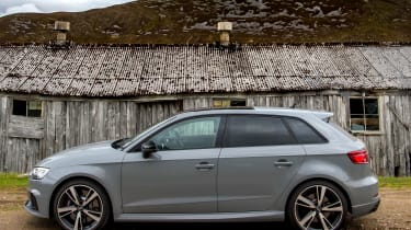 Audi RS3 side static