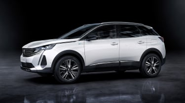 2020 Peugeot 3008 PHEV - side view static