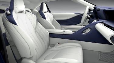 Lexus LC500 Convertible seats