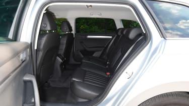 Skoda Superb Estate - rear seats