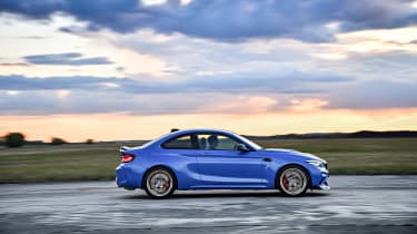 BMW M2 CS driving - right side