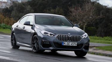 BMW 2 Series Gran Coupe saloon front cornering