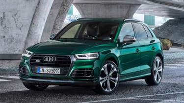 2019 Audi SQ5 TDI - front view