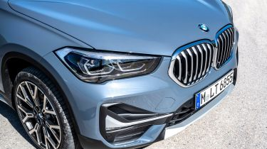 BMW X1 SUV nose
