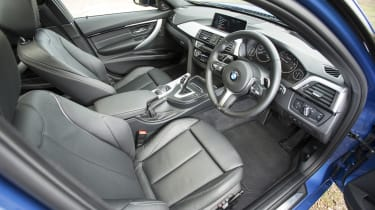 Plenty of adjustment for the seat and steering wheel ensures almost any driver can get comfortable