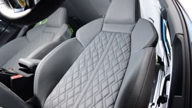 Audi A3 saloon seats