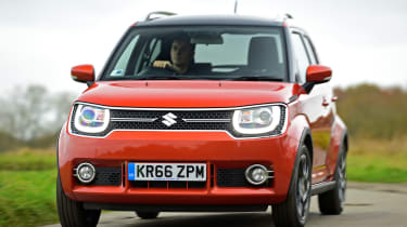 The Suzuki Ignis is a quirky small car that's the length of a city car, but the height of an SUV