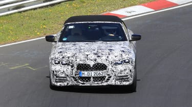 BMW 4 Series Convertible front end