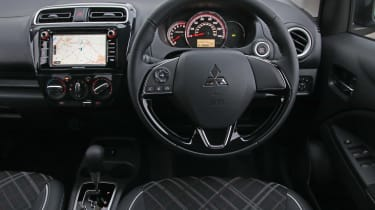 2020 Mitsubishi Mirage Design - interior dashboard