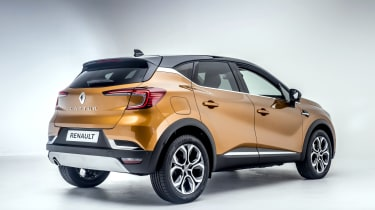 2020 Renault Captur - rear 3/4 studio shot