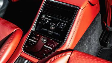 Porsche Panamera hatchback rear controls