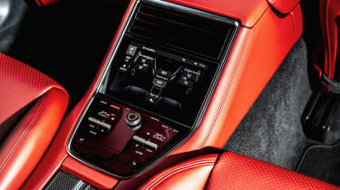 Porsche Panamera hatchback rear controls