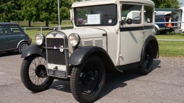 The first BMW was British. Sort of