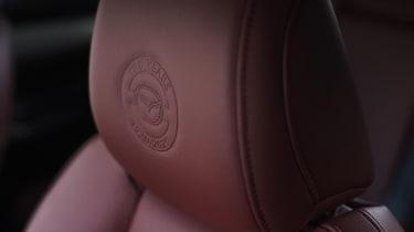 Mazda MX-5 100th Anniversary headrests