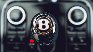 Bentley Continental Flying Spur saloon gearlever