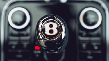 Bentley Continental Flying Spur saloon gearlever