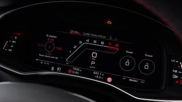 Audi RS6 Avant estate Virtual Cockpit