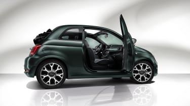 Fiat 500C Rockstar - side view