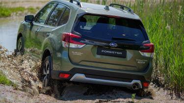 Subaru Forester SUV rear wading