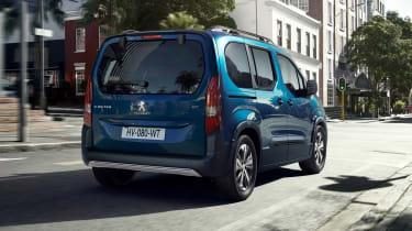 Peugeot e-Rifter rear