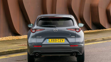 Mazda CX-30 SUV rear static