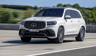 Mercedes-AMG GLS 63 driving
