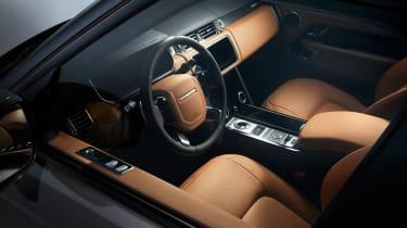 Range Rover Fifty interior