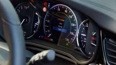 2021 Vauxhall Insignia - dial cluster