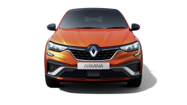 2021 Renault Arkana SUV front end
