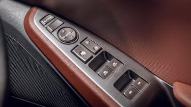 Hyundai Ioniq Hybrid review door controls