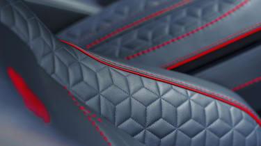 Aston Martin DBS Superleggera seat