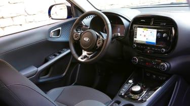 Kia Soul EV SUV interior