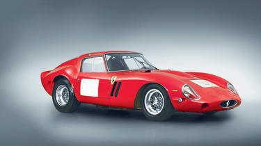 The Ferrari 250 GTO was a homologation model, meaning a road-going version was produced just so the car could meet race regs