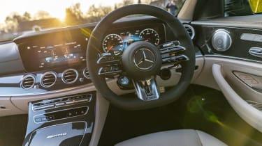 Mercedes-AMG E 63 estate interior - close up