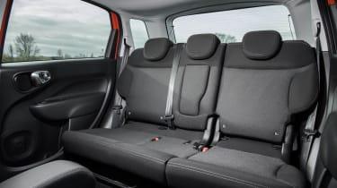 Fiat 500L rear seats