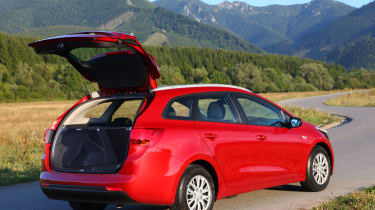 The Sportswagon's boot isn't the biggest in class, but still holds an impressive 1,642 litres with the seats folded