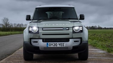 Land Rover Defender 110 - front view static