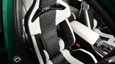 BMW M3 Competition saloon - front seats
