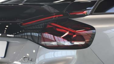 2021 Citroen C4 - rear lights close-up