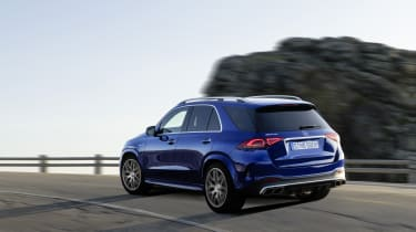 Mercedes-AMG GLE 63 S - rear 3/4 static view
