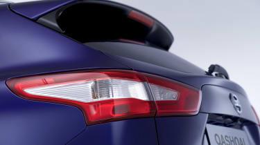 Nissan Qashqai 2014 rear detail