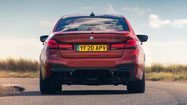 2021 BMW M5 Competition saloon - rear dynamic