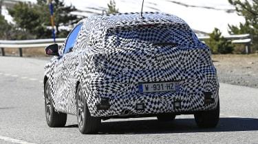 2020 Renault Captur hybrid - rear view