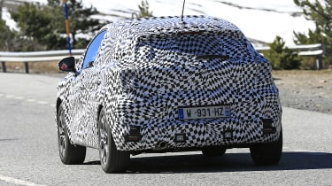 2020 Renault Captur hybrid - rear view