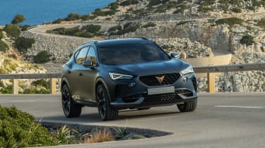 2020 Cupra Formentor SUV  - front cornering
