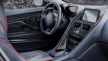 Aston Martin DBS Superleggera dashboard