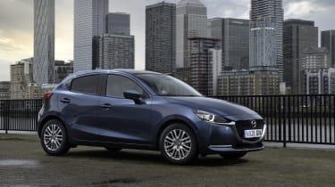 Mazda2 - front 3/4 static city