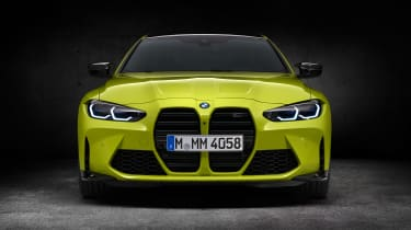 2021 BMW M4 Competition Coupe - front view