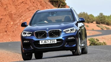 The BMW X3 is a popular SUV that offers a great blend of performance and practicality